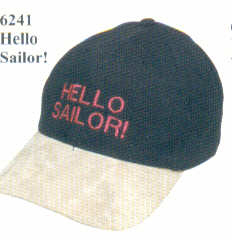 Crew cap - HELLO SAILOR!
