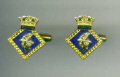 Cuff Links - HMS HERMES
