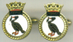 Cuff Links - HMS LIVERPOOL