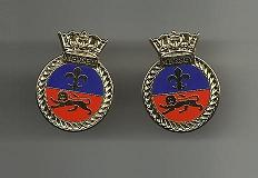 HMS MERSEY - Cuff Links