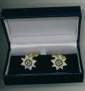 Cuff Links - IRISH GUARDS