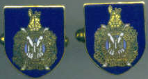 Cuff Links - KINGS OWN SCOTTISH BORDERERS