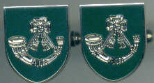 Cuff Links - LIGHT INFANTRY Shield