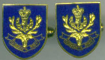 Cuff Links - QUEENS OWN HIGHLANDERS