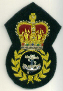 ROYAL NAVY CPO CAP BADGE