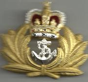 ROYAL NAVAL OFFICER Beret Badge