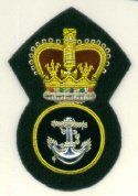 ROYAL NAVY PO CAP BADGE