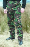 Woodland Camo Trousers - Adults