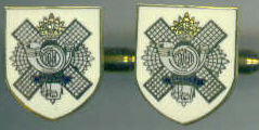 Cuff Links - HIGHLAND LIGHT INFANTRY