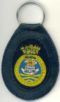 HMS ARK ROYAL - Leather Key Fob