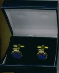 Cuff Links - HMS ILLUSTRIOUS