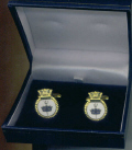 Cuff Links - HMS INVINCIBLE