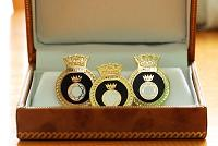 HMS LOWESTOFT - Cuff Links