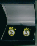 Cuff Links - HMS NEWFOUNDLAND