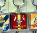 Keyring - British Army Regiments