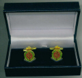Cuff Links - ROYAL ARMY MEDICAL CORPS RAMC