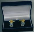 Cuff Links - ROYAL ARMY ORDNANCE CORPS RAOC