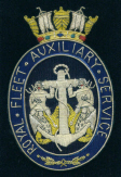 Blazer Badge - ROYAL FLEET AUXILIARY (RFA)