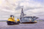 HMS ARK ROYAL Bows Out