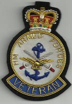 Veteran's Badge - Blazer Badge