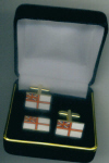 Cuff Link Set - White Ensign