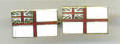 Cuff Links - WHITE ENSIGN